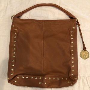 Vince Camuto rich tan unstructured shoulder bag